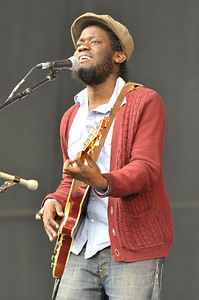 Michael Kiwanuka performs at Hard Rock Calling 2011 - 24/06/11
