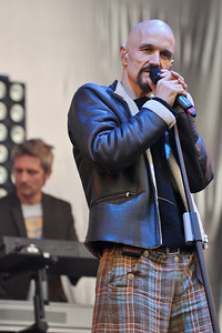James perform at Hard Rock Calling 2011 - 24/06/11