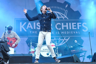 Kaiser Chiefs perform at Hard Rock Calling 2011 - 24/06/11