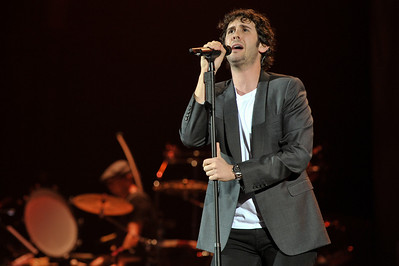 Josh Groban performs at HMV Hammersmith Apollo, London - 11/10/11