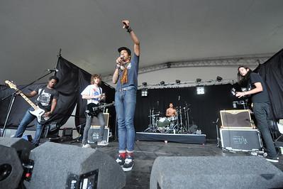 Cerebral Ballzy perform at Latitude Festival 2011 - 16/07/11