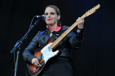 Anna Calvi performs at Latitude Festival 2011 - 17/07/11