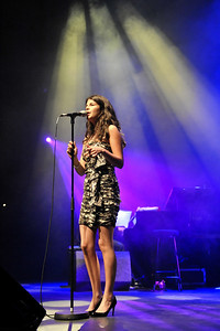 Nikki Yanofsky performs at Queen Elizabeth Hall - 08/05/11
