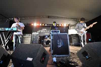 Discopolis perform Reading Festival 2011 - 27/08/11