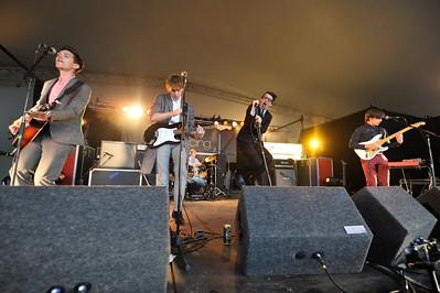Spector perform Reading Festival 2011 - 27/08/11