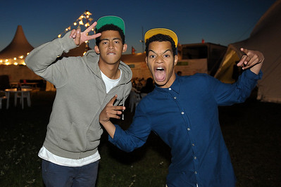 Rizzle Kicks perform at Reading Festival 2011 - 28/08/11