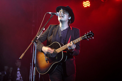 Peter Doherty performs at Reading Festival 2011 - 28/08/11