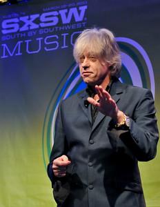Bob Geldof at SXSW 2011 - 17/03/11