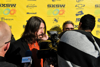 Foo Fighters launch their new movie at SXSW 2011 - 15/03/11