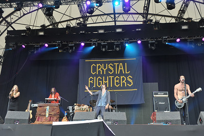 Crystal Fighters perform at The Big Chill Festival 2011 - 06/08/11
