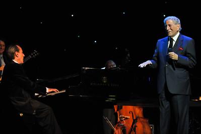 Tony Bennett performs at The London Palladium - 03/10/11