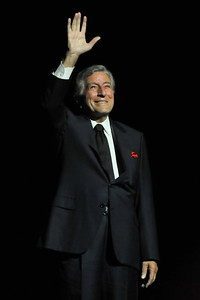 Tony Bennett performs at The London Palladium - 03/10/11