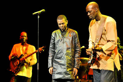 Youssou N'Dour performs at The Barbican - 09/03/11