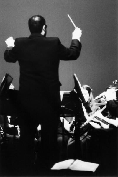 Mr. Gallagher conducting