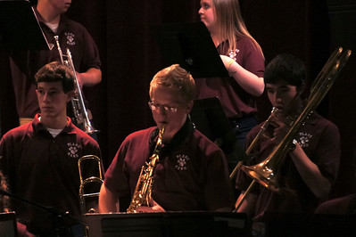 Jazz Band at Clark Concerto