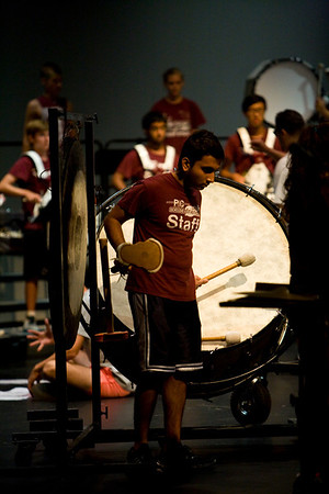 July 2012 Drumline End-of-Camp Performance