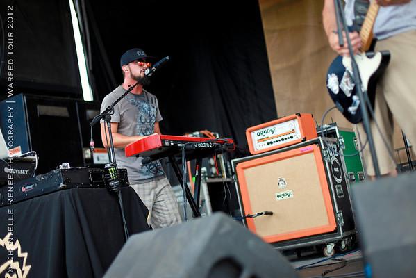 Ballyhoo!   Vans Warped Tour 2012   Houston, TX