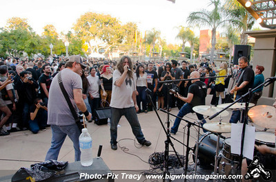Adolescents at Kelly Thomas Memorial Show - Fullerton, CA - July 8, 2012