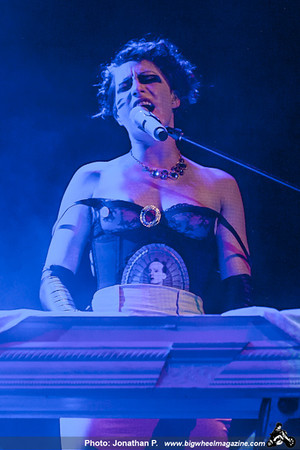 Amanda Palmer and the Grand Theft Orchestra - at The Fillmore Auditorium - San Francisco, CA - September 26, 2012