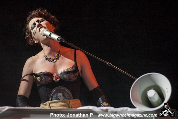 Amanda Palmer and the Grand Theft Orchestra - at The Fillmore Auditorium - San Francisco, CA - September 26, 2012