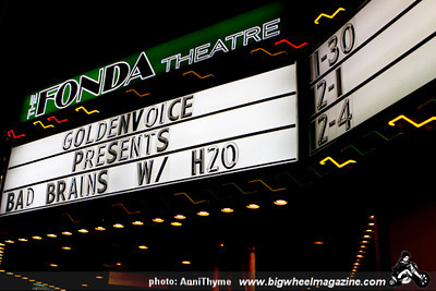 Bad Brains - H2O - Year of the Dragon - at The Fonda Theater - Los Angeles, CA - December 1, 2012
