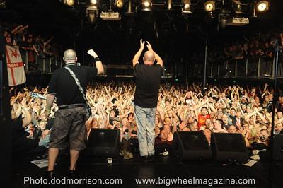 Rebellion Presents: Cock Sparrer and Infa Riot - at The Melkweg - Amsterdam, Holland - June 16, 2012
