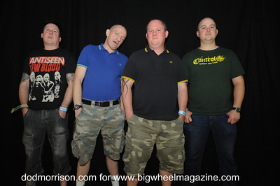The Business - Durham Punk Festival - at Dunelm House - Durham, UK - September 15, 2012