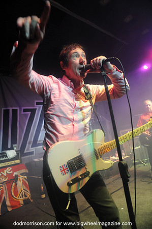 Buzzcocks - Durham Punk Festival - at Dunelm House - Durham, UK - September 15, 2012