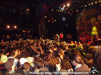 Municipal Waste - Napalm Death - The Dwarves - at House of Blues - Los Angeles, CA - November 14 2012