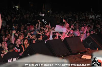 Rancid - at The Warfield - San Francisco, CA - March 23, 2012