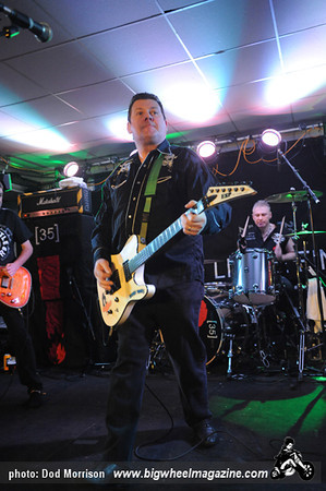 Stiff Little Fingers - at The Lemon Tree - Aberdeen, UK - March 14, 2012