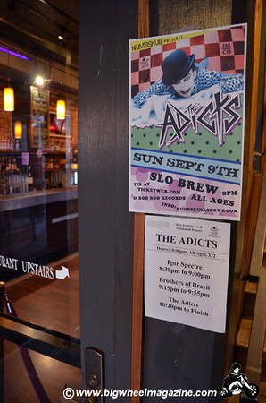 The Adicts - at SLO Brew - San Luis Obispo, CA - September 9, 2012