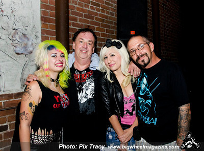 The Vibrators - at Characters - Pomona, CA - September 6, 2012