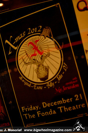 X - at The Fonda - Los Angeles, CA - December 21, 2012