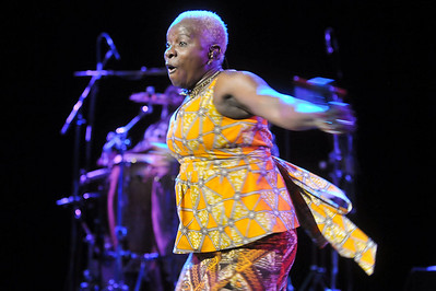 Angelique Kidjo performs at Queen Elizabeth Hall, London - 26/07/12