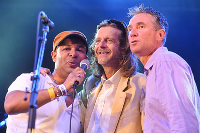 Jools Holland & His Rhythm and Blues Orchestra perform at BT River of Music 2012 - 22/07/12