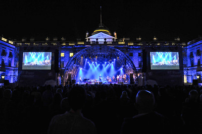 Penguin Cafe perform for BT River of Music, Somerset House - 21/07/12