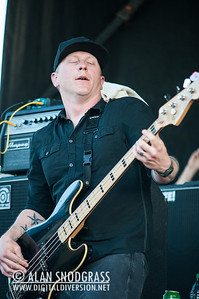 Hot Water Music performs on May 28, 2012 at Punk Rock Bowling in Las Vegas, Nevada