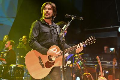 Juanes performs at Shepherds Bush Empire, London - 05/11/12