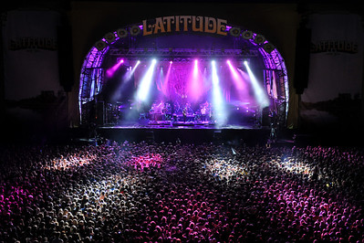 Bon Iver perform at Latitude Festival 2012 - 13/07/12