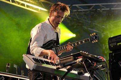 Battles perform at Latitude Festival 2012 - 15/07/12