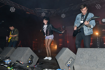 Sleigh Bells perform at Reading Festival 2012 - 24/08/12