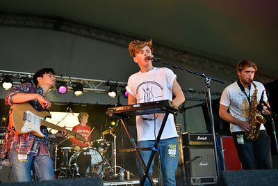 Park Bench Society perform at Reading Festival 2012 - 24/08/12