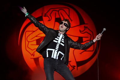Kasabian perform at Reading Festival 2012 - 25/08/12