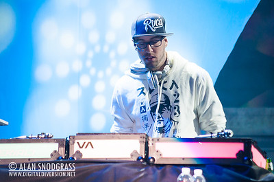 DJ Rocky Rock of Sublime With Rome performs July 22, 2012 at The Greek Theater in Berkeley, California