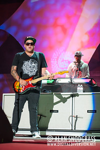 Rome Ramirez (L) and DJ Rocky Rock of Sublime With Rome perform July 22, 2012 at The Greek Theater in Berkeley, California