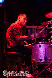 """James Meza of Tiger Army performs on October 21, 2012 during """"October Flame V""""  at the Catalyst in Santa Cruz, California"""
