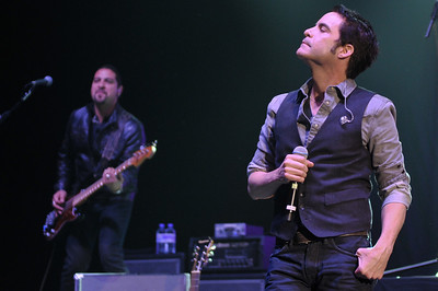 Train perform at Hammersmith Apollo,  London - 03/05/2012