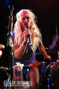 Sarah Blackwood of Walk Off The Earth performs June 15, 2012 at Slim's in San Francisco, California