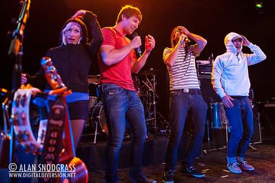 Walk Off The Earth performs June 15, 2012 at Slim's in San Francisco, California